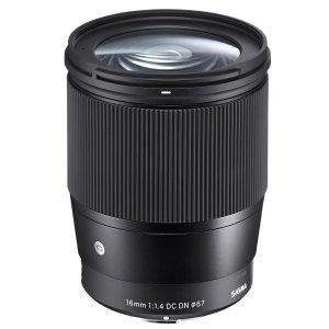 $319 24GM性价比替代之选Sigma 16mm f/1.4 DC DN 镜头 索尼E卡口