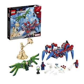 $26.99(原价$39.99)史低价:LEGO Marvel Spider-Man 蜘蛛侠的蜘蛛爬行器 76114