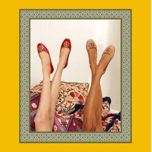 低至5折 收芭蕾鞋Tory Burch 折扣区大促 鞋包、配饰等热卖
