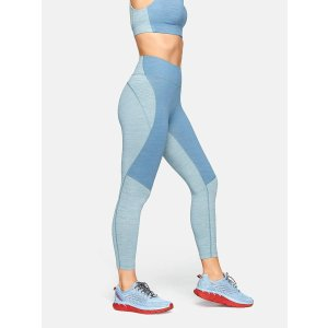 Outdoor VoicesTechSweat 3/4 Two-Tone Leggings