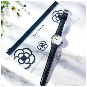 3套直邮美国到手价 $42日本时尚杂志 steady 5月刊附录赠送 CLATHAS山茶花手表