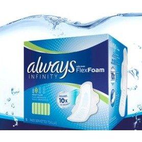限时聚划算¥159到手进口护舒宝Always液体卫生巾无荧光剂日用54片+夜用16片