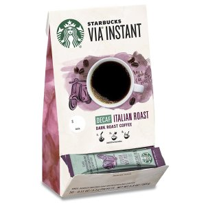 $4.27 for Pack of 8 + FSStarbucks VIA Instant Coffee Dark Roast French Roast