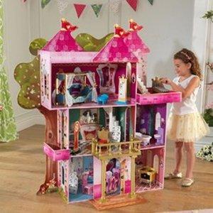 低至4折KidKraft 高品质娃娃屋、儿童房木质家具等促销