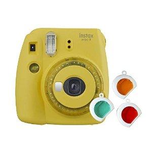 FujifilmMini 9 Appareil Photo 黄色