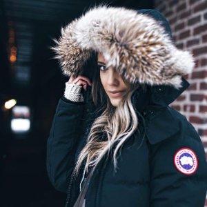 8折   为即将到来的寒冬囤货闪购:CANADA GOOSE 大鹅羽绒服热卖