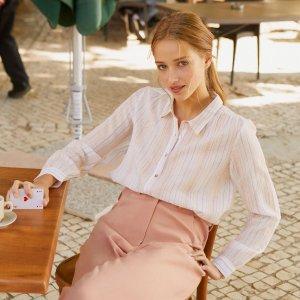 2折起 €38收封面同款衬衫Petite Mendigote Outlet区惊喜上线 get法式小清新美衣