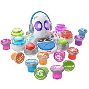 $25.99(原价$59.99) 近史低价Fisher-Price 儿童音乐章鱼益智玩具,适合3-6岁宝宝
