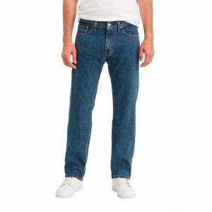 现价$24.99(原价$29.99)  2色可选黑五开抢:Levi's 男士直筒505牛仔裤