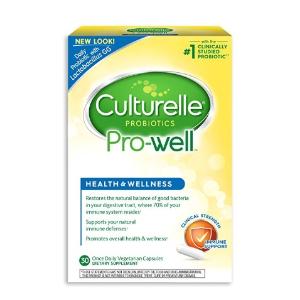 $10.74 (原价$22.94) 包邮Culturelle 成人益生菌 30粒 增强抵抗力 肠胃健康必备