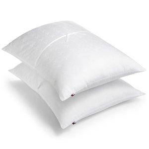 $9.99Tommy Hilfiger 经典舒适睡眠枕一对 standard/king