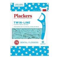 Plackers Twin-Line牙线 75支