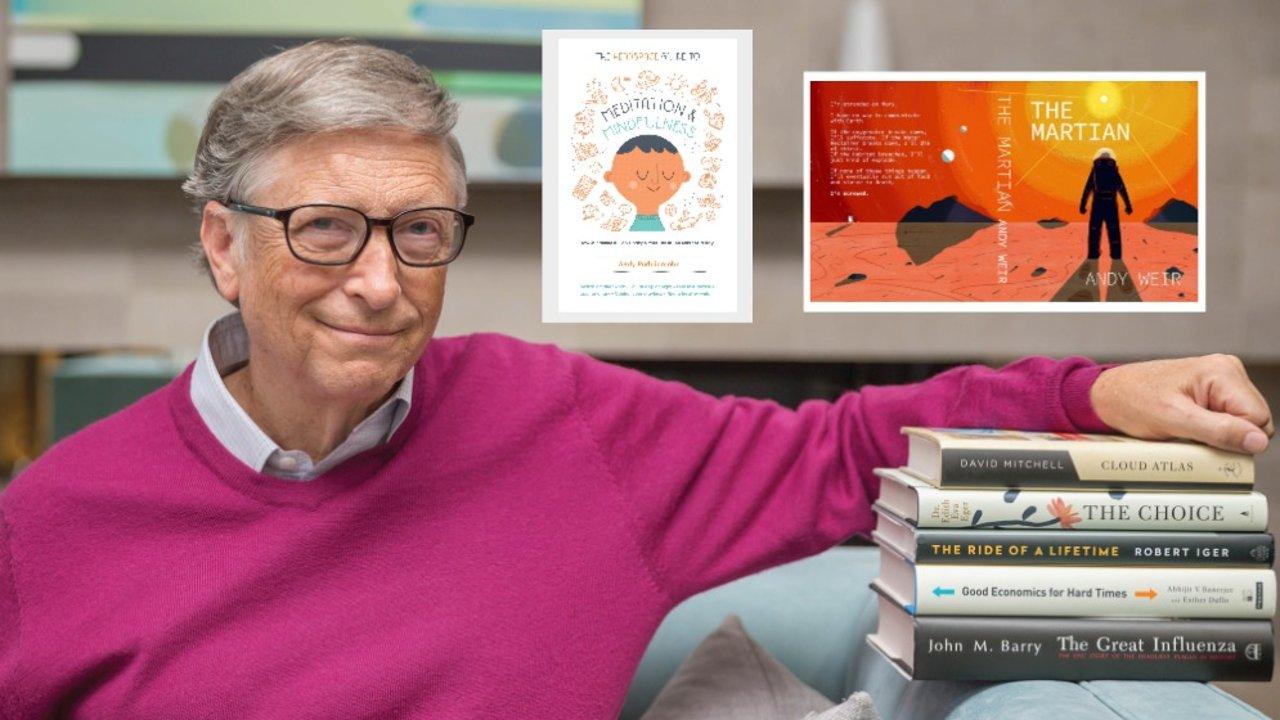 比尔盖茨2020上半年书单来了!关于治愈、人性、经济、人生...大佬推荐的这14本书籍值得大家阅读
