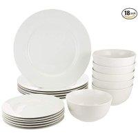 AmazonBasics 餐具18件