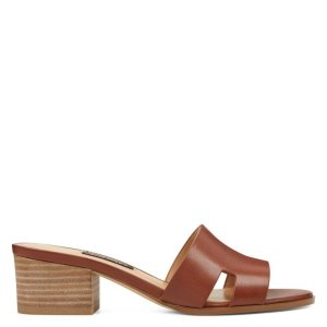 Nine WestAubrey Open Toe Slide Sandals