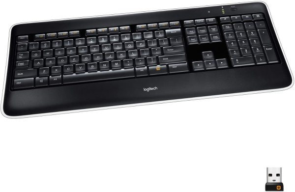 Logitech Illuminated K800 无线背光键盘