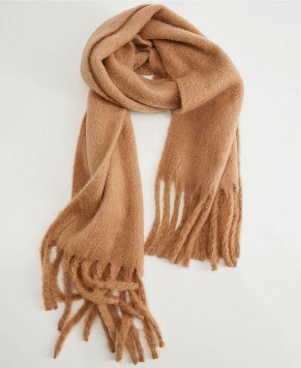 羊毛混合围巾