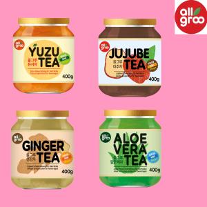 400g仅€5.48Allgroo 韩国蜂蜜柚子茶 冷饮热饮都好喝 姜茶、枣茶、芦荟茶