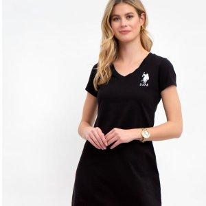 $10(原价$42)独家:US polo Assn. T恤连衣裙2.3折热卖 多色可选