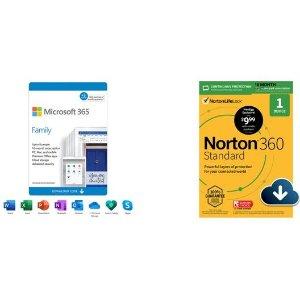 $74.99 凑单超划算Microsoft 365 家庭版 带1TB OneDrive 15月/6人