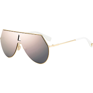 $78(Org.$525) + Free ShippingDealmoon Exclusive: Eyedictive Selected Fendi Eyeline Shield Sunglasses