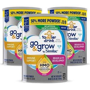 SimilacSimilac Go & Grow Toddler Non-GMO Milk-Based Powder