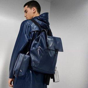 满£65减£20 最高直减£60RAINS 网红雨衣、防水双肩包大促 雨天也要凹造型