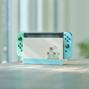 售价€399 神仙配色惊喜补货:NINTENDO Switch 动森版补货!超萌主机配色!