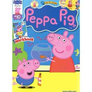$12.99Peppa Pig 小猪佩奇儿童杂志,1年6期