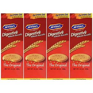 $23.28 英国皇室的指定供应商Mcvities 全麦消化饼400g 8包