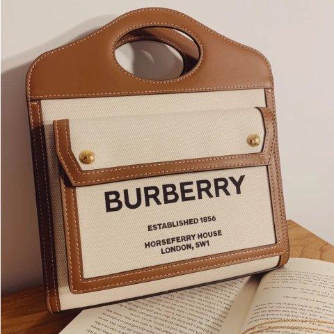 5折起 €413收Olympia腋下包Burberry 新品私密大促 爆款Pocket有货 €280收TB短袖