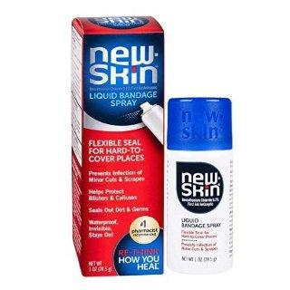 $4.97 白菜价New-Skin 液体喷雾防水创可贴 30ml 小割伤、磨破皮必备
