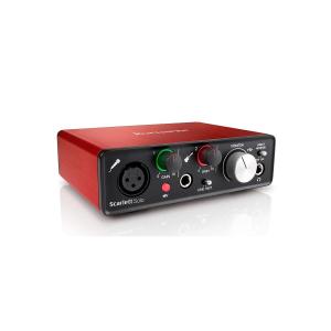 Focusrite Scarlett Solo USB Audio Interface 2nd Gen