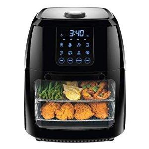 史低价:Chefman 6.3夸脱超大容量二合一数字空气炸锅烤箱