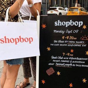 低至2.5折+额外7.5折手慢无:Shopbop 过年清仓热卖 收Marni、Byfar、TB