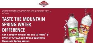Arrowhead® Brand Sparkling Mountain Spring Water
