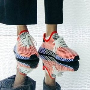 鹿晗封面同款$39.99超划算:adidas Originals Deerupt 跑鞋 多色码全