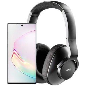 Note10+AKG N700NC降噪耳机 $750起Samsung Galaxy S10 & Note10 大促销,立减$500 多色可选