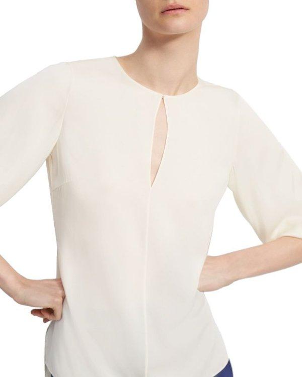 Stretch Silk 上衣