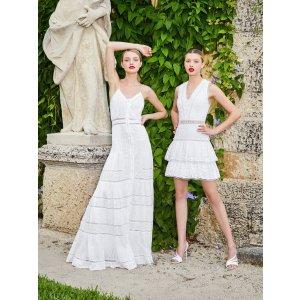 Alice + Olivia蕾丝连衣裙