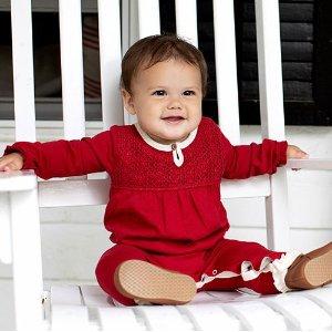 Burt's Bees Baby 儿童节日风格有机棉服饰特卖