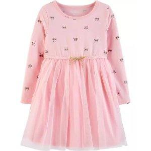 Oshkosh新款女小童连身纱裙