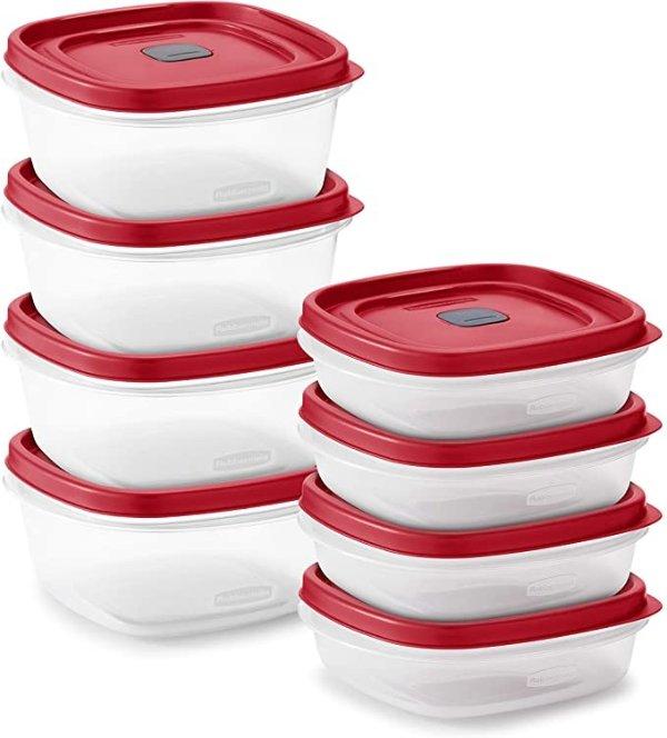 食品保鲜盒 8个