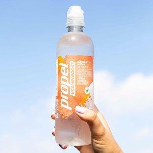 $13.29 补充每天所需维生素Propel 维他命饮料 草莓覆盆子+芒果桃子 10瓶装 一瓶仅10卡
