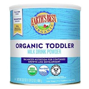 Earth's Best Organic Toddler Milk Drink Powder, Natural Vanilla, 23.2 Ounce @ Amazon