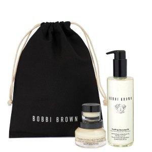 直接7.5折!官网已断货!惊喜补货:Bobbi Brown 超值舒缓护肤套装 舒缓肌肤 打造完美底妆