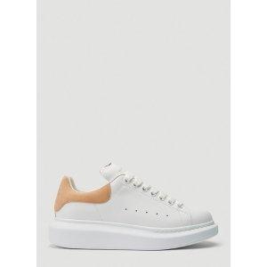 Alexander McQueen粉尾小白鞋