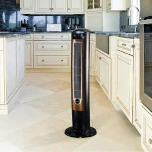 $44.28Lasko T42950 Wind Curve Tower Fan with Remote Control and Fresh Air Ionizer, Black Woodgrain