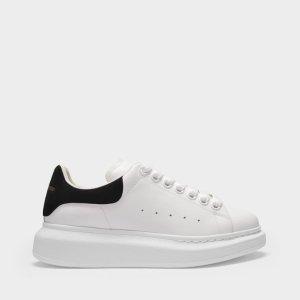 Alexander McQueen黑尾小白鞋