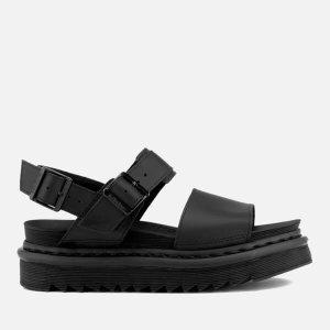 Dr. Martens厚底凉鞋